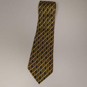 Gucci Yellow Silk tie